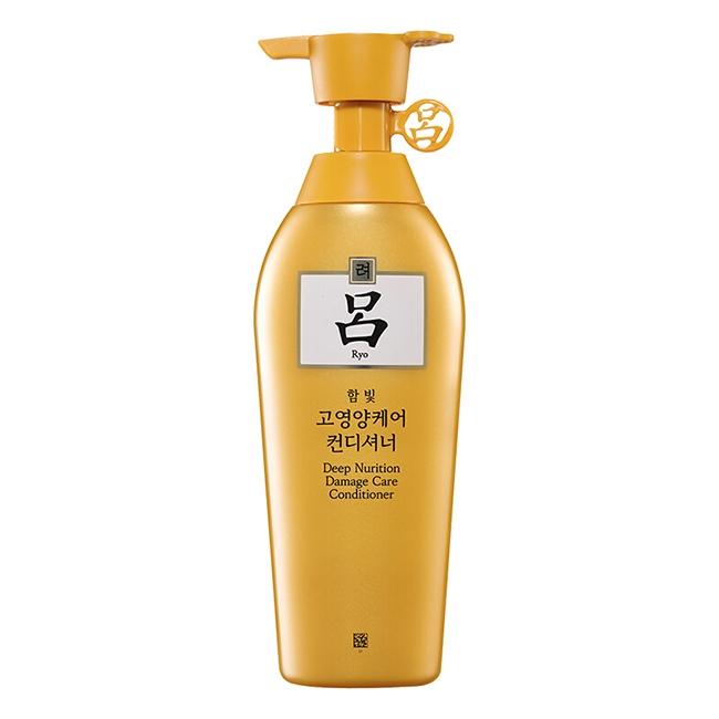 韩国吕(Ryo)含光耀护金萃养护护发乳 黄吕400ml