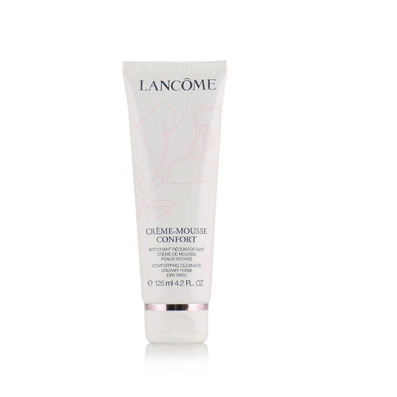法国兰蔻Lancome 温和柔肤粉色泡沫洁面乳125ml