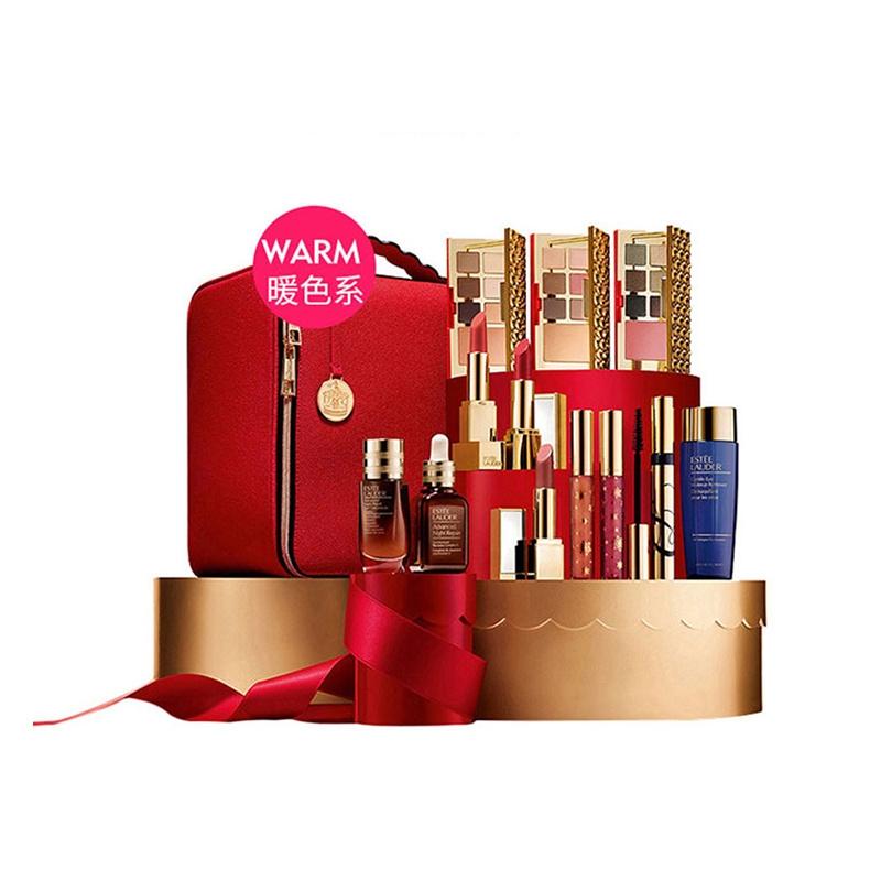 美国雅诗兰黛ESTĒE LAUDER18年圣诞限量美妆礼盒(暖色系)