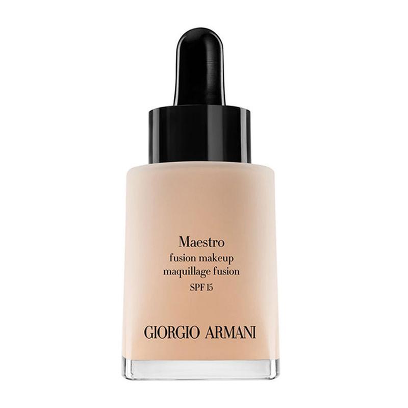 法国阿玛尼(ARMANI) 新款 遮瑕保湿修正肤色 极缎丝柔滴管粉底液 2#瓷白色