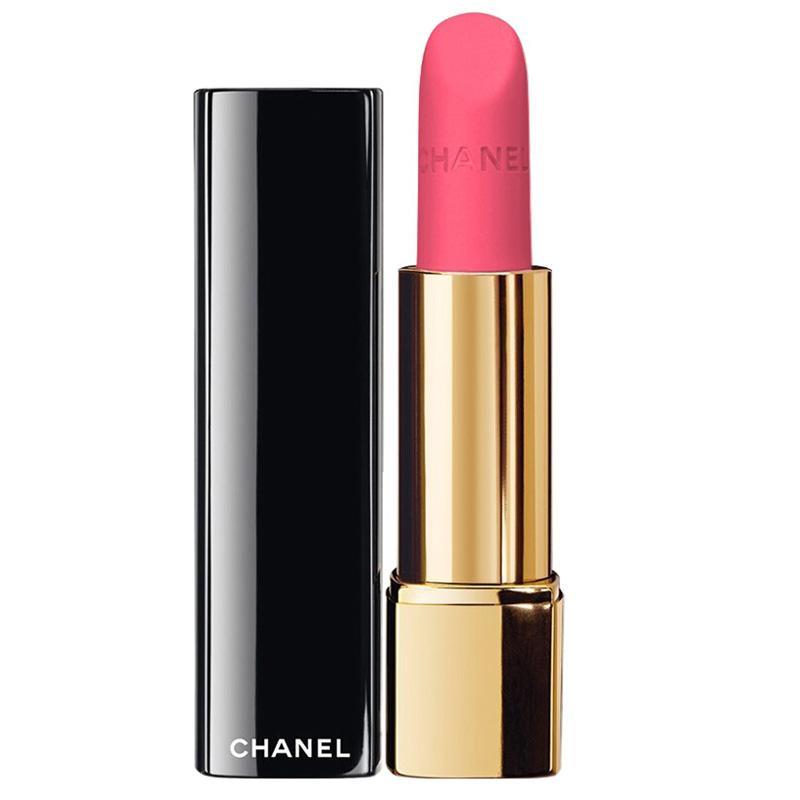 法国香奈儿Chanel 丝绒口红女士唇膏炫亮魅力 42# 荧光粉 版本随机发货