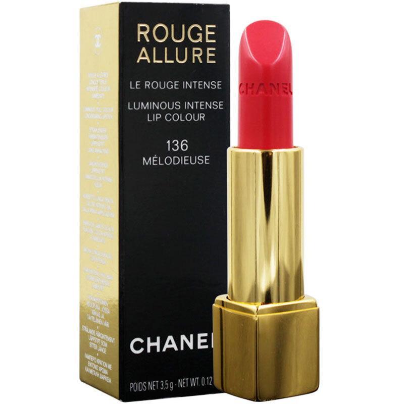 法国香奈儿 Chanel 香奈儿口红女士 136#西瓜红 3.5g 版本随机发货