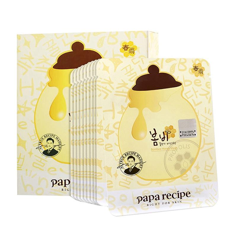 韩国papa recipe春雨蜂蜜面膜10片/盒 新老包装随机发货