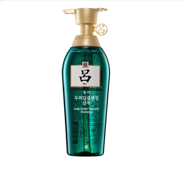 吕(Ryo)舒盈清润净澈控油洗发水绿吕洗发水400ml