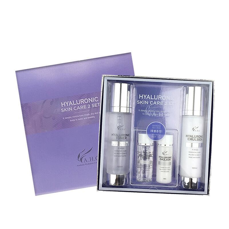 【香港直邮货源】代购韩国AHC透明质酸玻尿酸精华神仙水乳套盒
