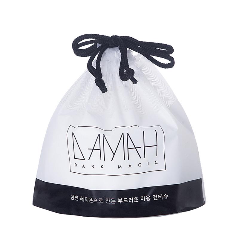 一般贸易货源【中文标】代购韩国DAMAH黑魔法一次性洗脸巾