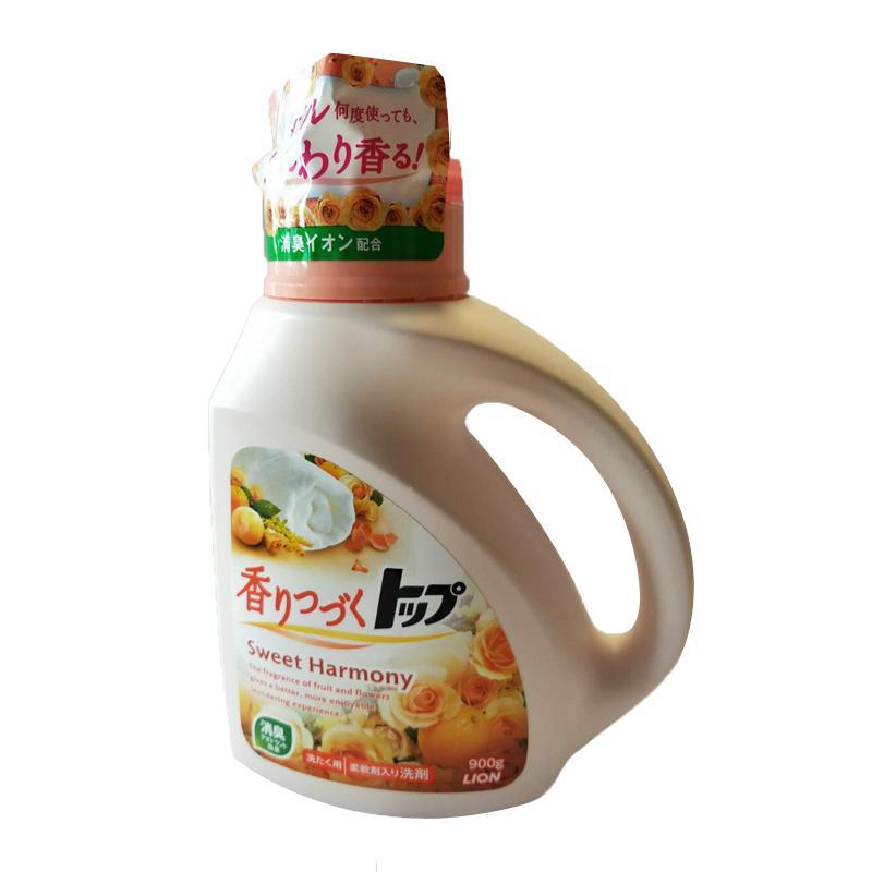 一般贸易货源【中文标】代购日本狮王花香型柔顺洗衣液900g