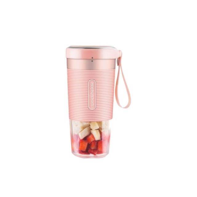 一般贸易货源【李佳琪推荐】代购摩飞便携充电式榨汁机MR9600小型家用榨汁杯电动果汁机迷你料理水果汁杯粉色
