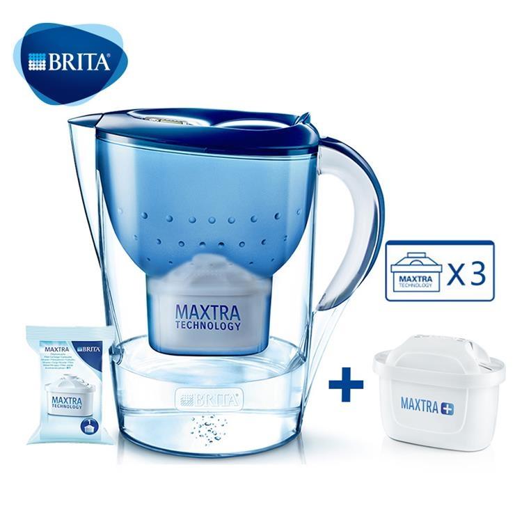 一般贸易货源 代购碧然德(BRITA)Marella金典系列过滤净水器3.5L组合装一壶四芯