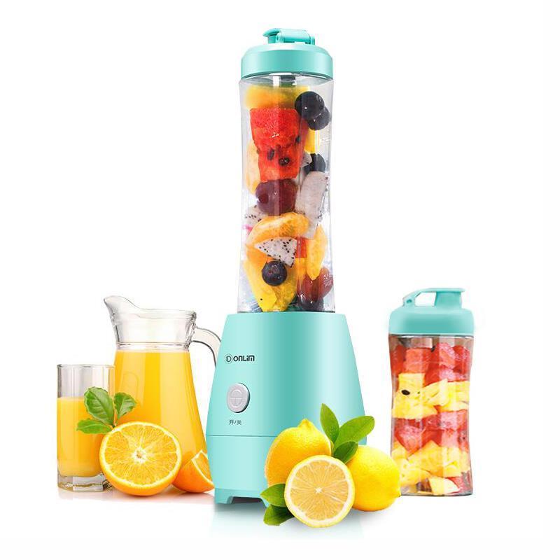一般贸易货源 代购Donlim/东菱 DL-BX300便携式榨汁机迷你学生炸水果汁机榨汁杯家用