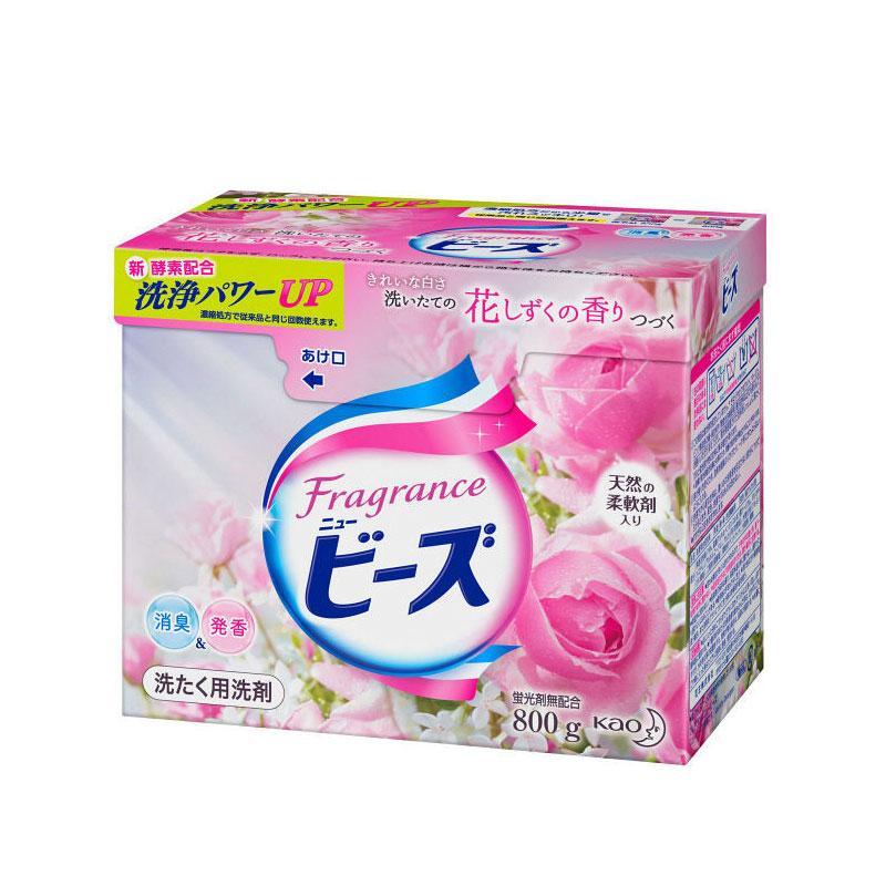 一般贸易货源【中文标】代购日本花王玫瑰香洗衣粉800g