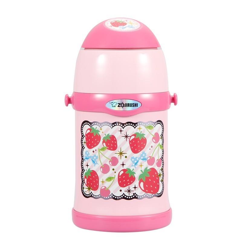 一般贸易货源 代购日本ZOJIRUSHI/象印儿童保温杯粉胖子450ml
