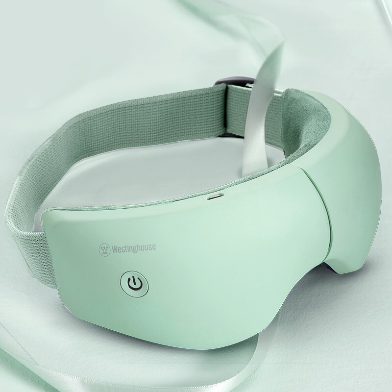 一般贸易货源 代购美国西屋 眼部按摩仪热敷护眼仪按摩器眼睛眼部音乐眼罩按摩仪眼(蓝色)