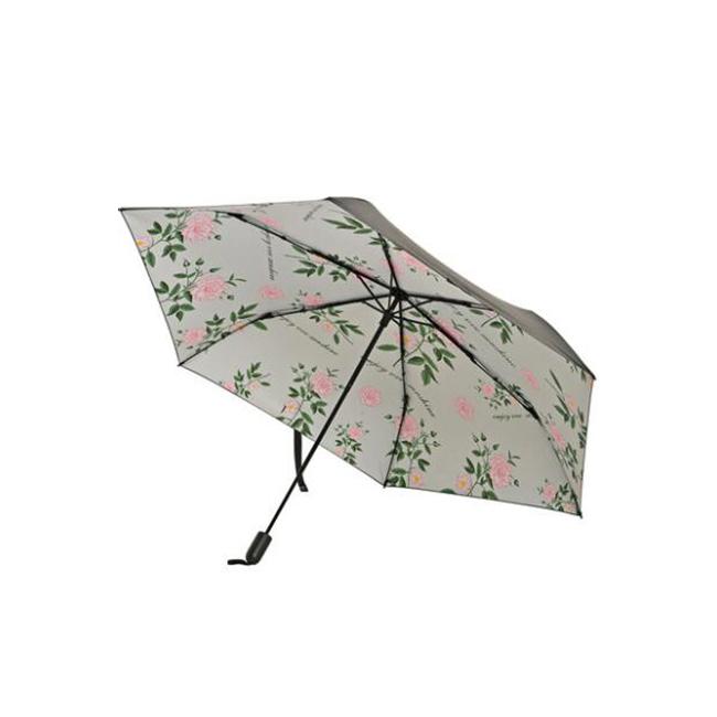 一般贸易货源 代购韩国VVC折叠新款防晒遮阳伞(碎花)