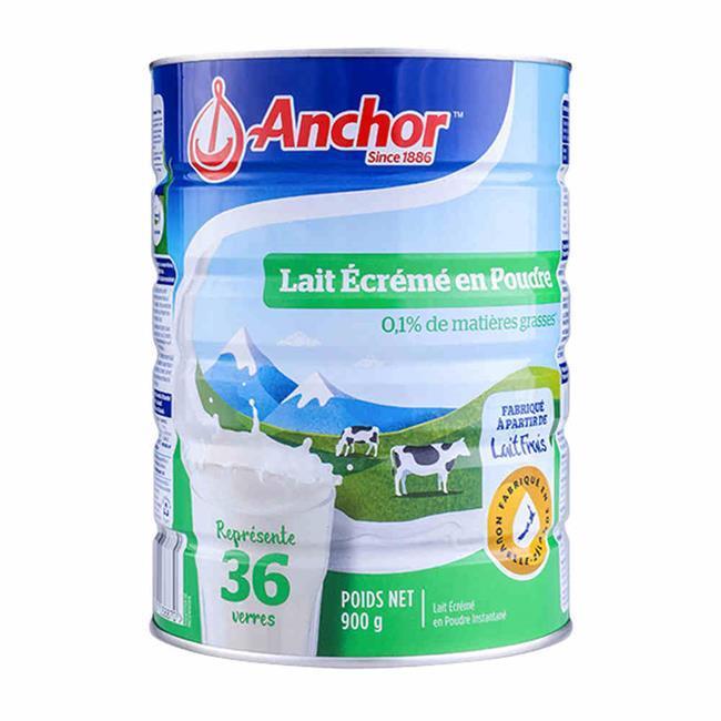 【新西兰直邮】Anchor安佳成人脱脂奶粉900g/罐装