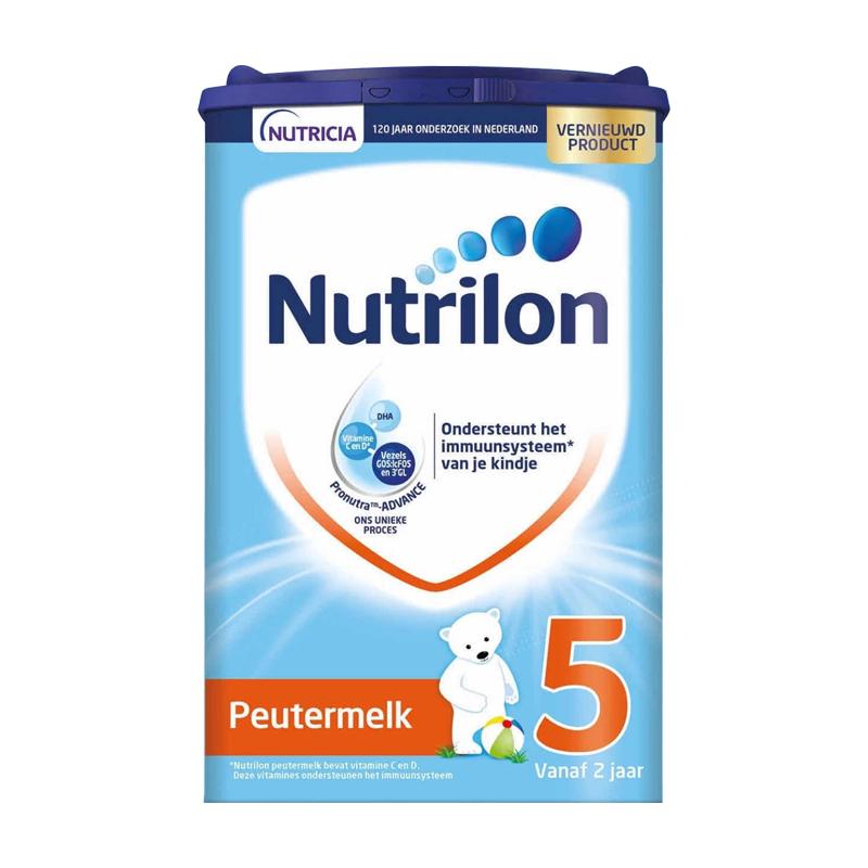 保税货源 代购荷兰牛栏Nutrilon奶粉5段800g (新包装)