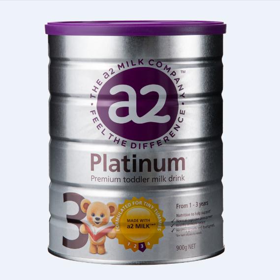保税货源 代购澳大利亚a2白金婴儿奶粉3段900g(全新包装)