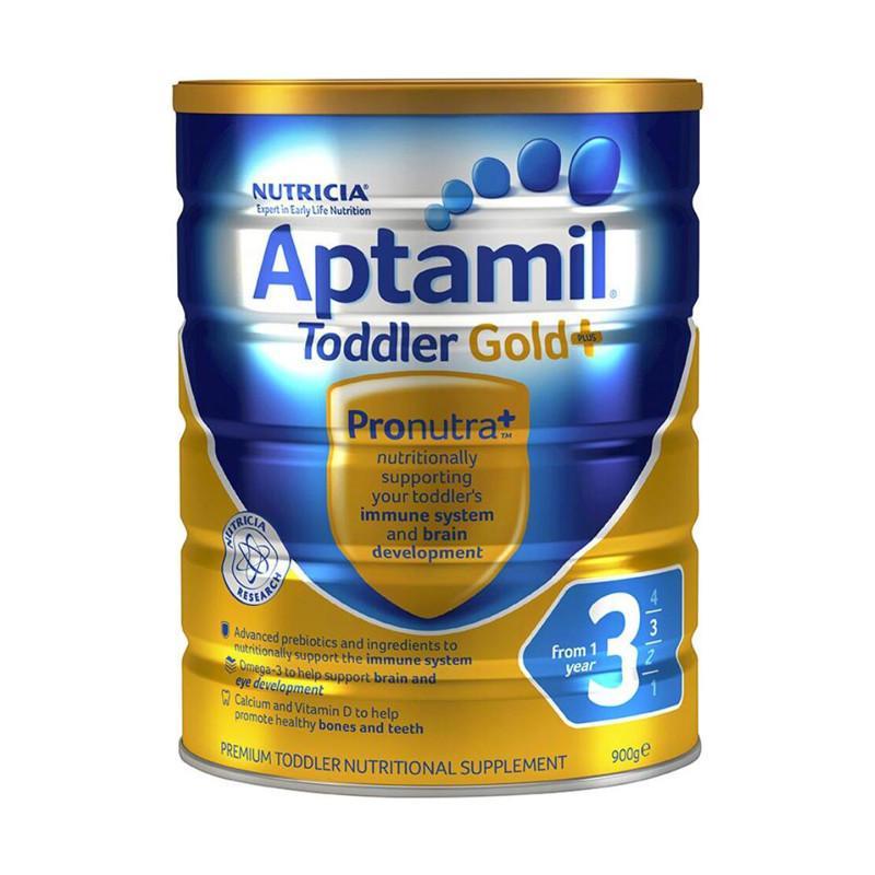 保税货源 代购澳洲爱他美Aptamil奶粉金装3段900g