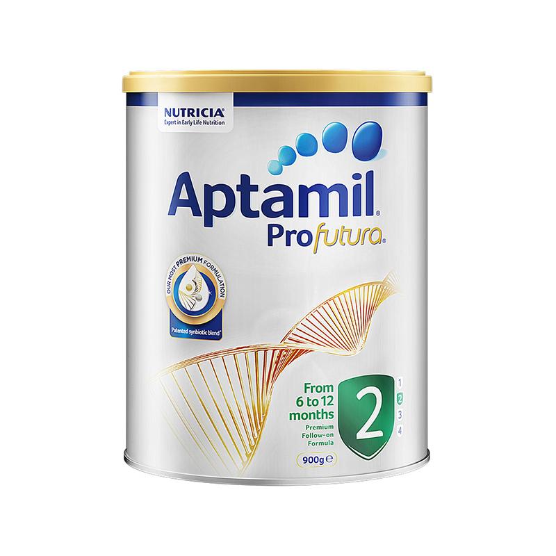 保税货源 代购澳洲爱他美Aptamil奶粉白金版2段900g(全新包装)