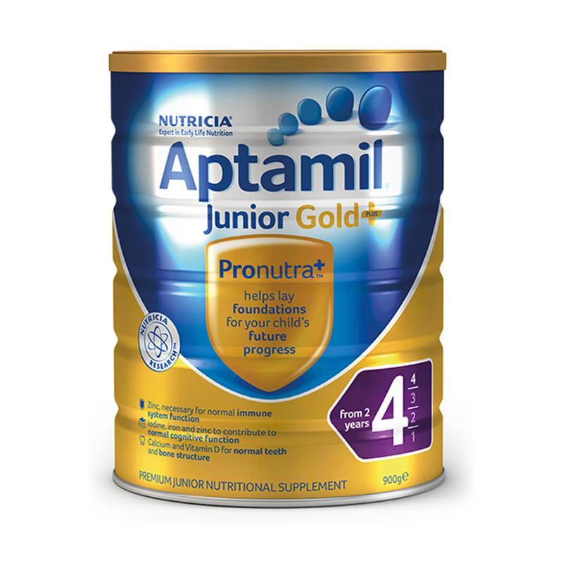 保税货源 代购澳洲爱他美Aptamil奶粉金装4段900g