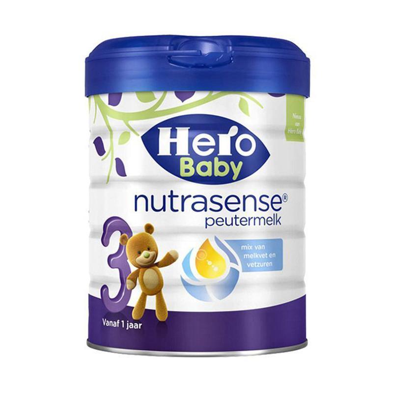 保税货源 代购荷兰美素Herobaby奶粉白金版3段700g