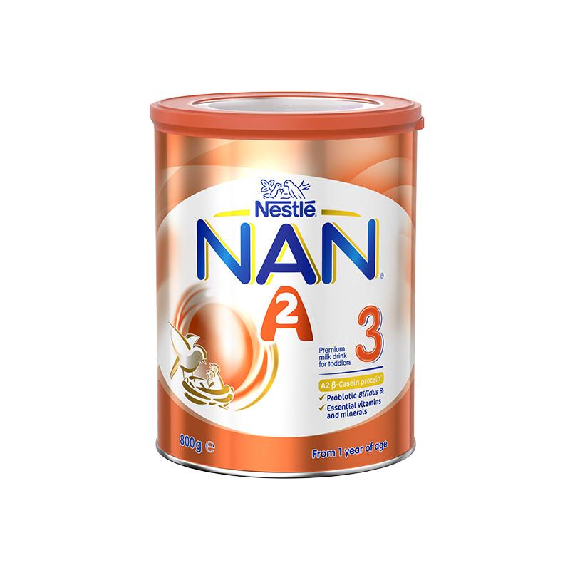 【澳洲直邮货源】代购澳洲雀巢NESTLE NAN能恩A2奶粉3段800g
