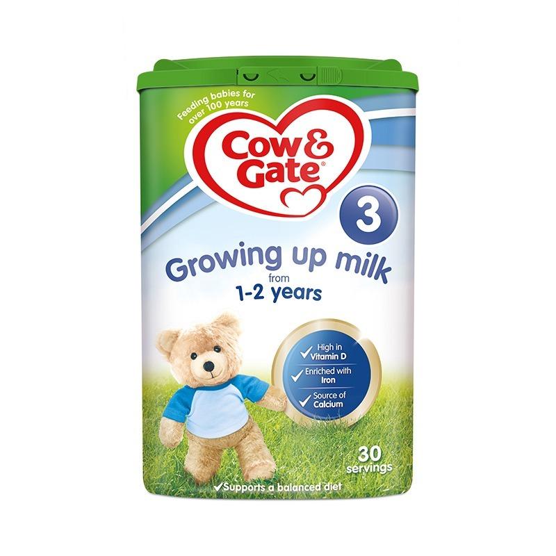 保税货源 代购英国牛栏Nutrilon奶粉3段800g(新旧包装随机发送)