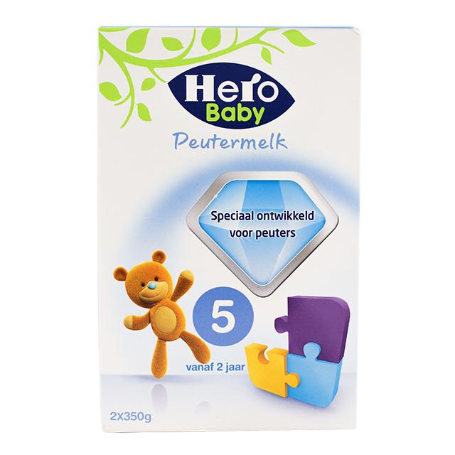 【荷兰直邮货源】代购荷兰美素Herobaby奶粉5段700g