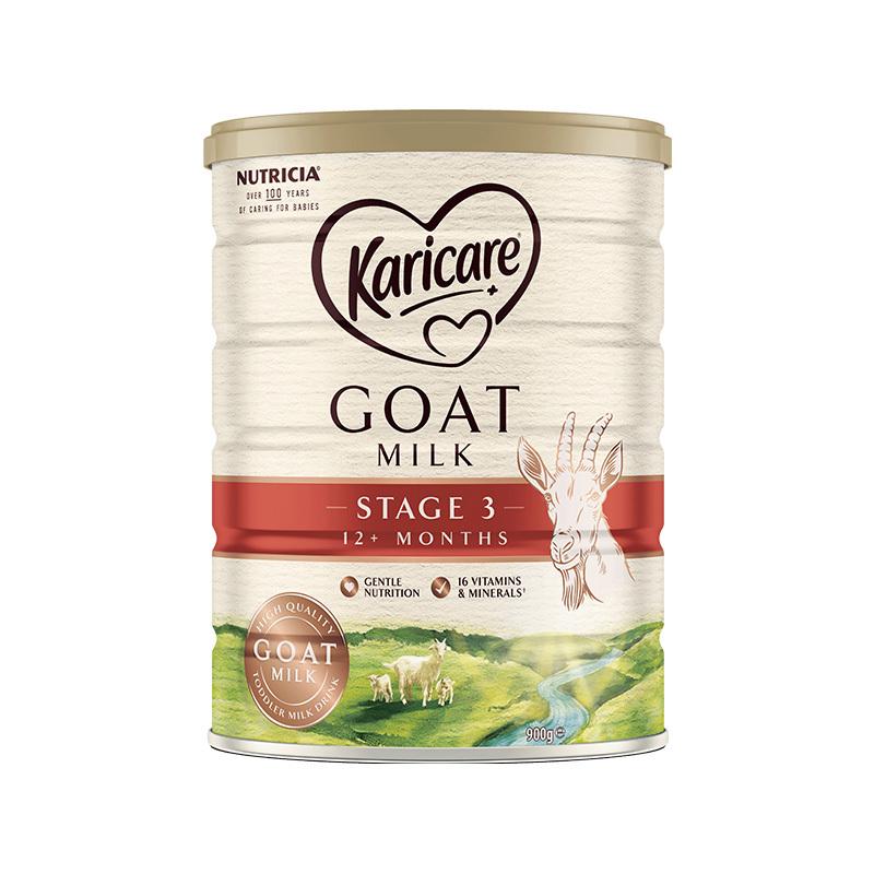 保税货源 代购新西兰可瑞康Karicare羊奶粉3段900g(新包装)