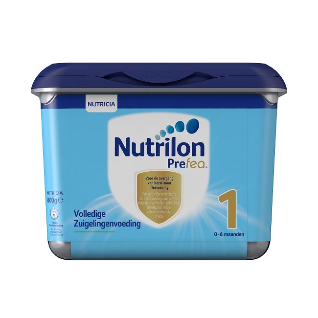 【荷兰直邮货源】代购荷兰牛栏Nutrilon Prefea白金版婴幼儿奶粉1段800g
