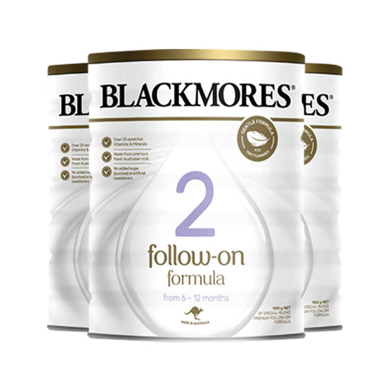 【澳洲直邮货源】代购澳洲澳佳宝BlackmoresOPO奶粉2段900克(全新包装)