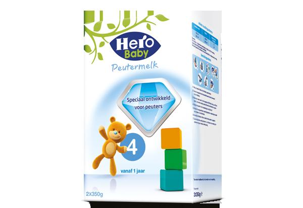 保税货源 代购荷兰美素Herobaby奶粉4段700g(新旧包装随机)