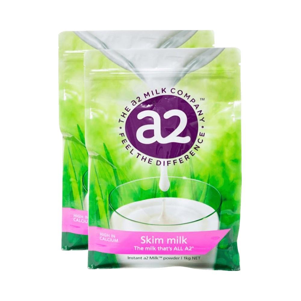 保税货源 代购澳洲a2成人脱脂速溶奶粉1kg(新老包装随机)