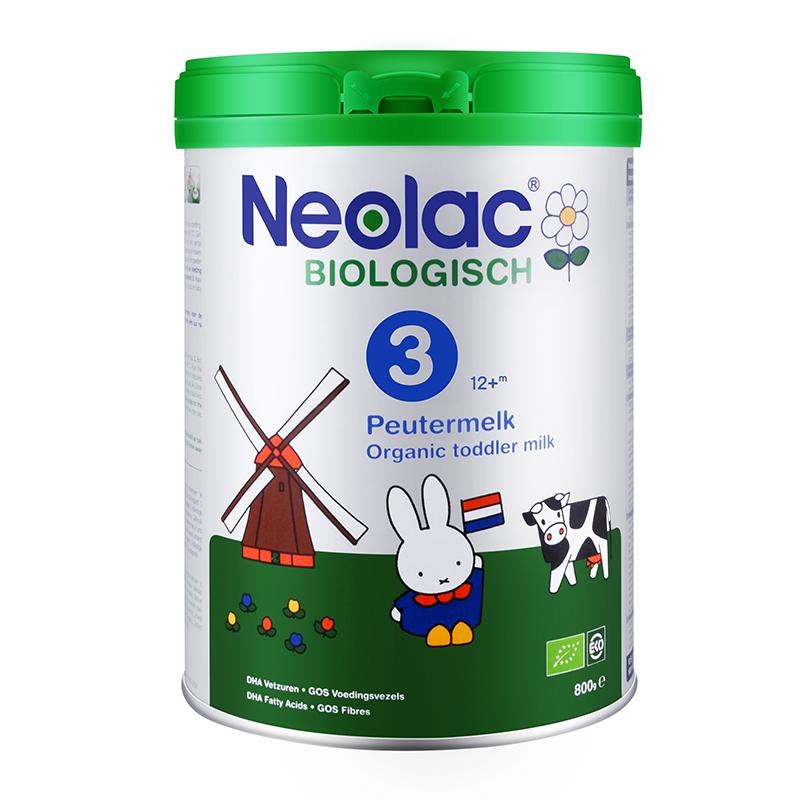 保税货源 代购荷兰悠蓝Neolac有机婴幼儿配方奶粉3段800g