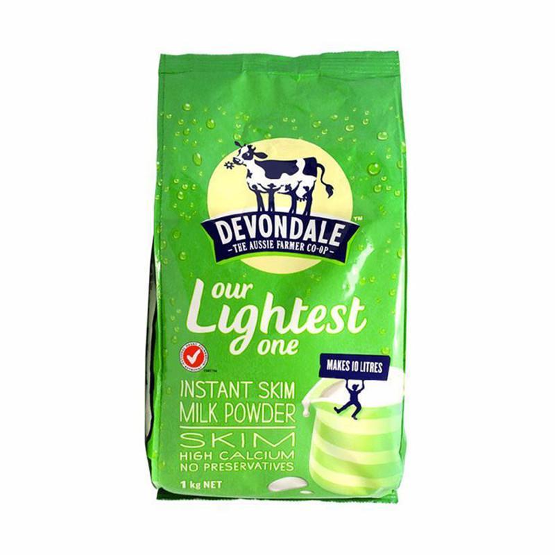 一般贸易货源【中文标】代购澳大利亚德运脱脂奶粉1kg