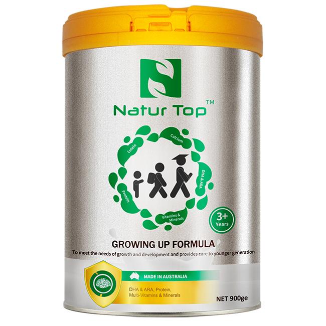 一般贸易货源 代购澳洲诺崔特儿童学生青少年高钙成长奶粉900g