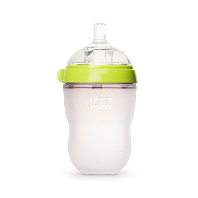 保税货源 代购美国可么多么comotomo奶瓶绿色250ml(独立装)
