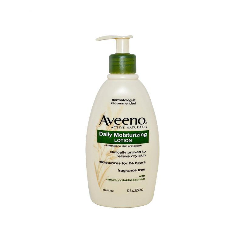 保税货源 代购美国艾维诺Aveeno成人燕麦保湿润肤乳354ml