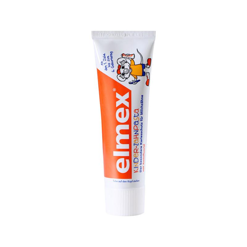 一般贸易货源 代购ELMEX® 艾美适0-6岁儿童牙膏 50ml