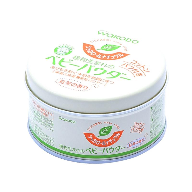 【日本直邮货源】代购和光堂WAKODO 植物爽身粉120g