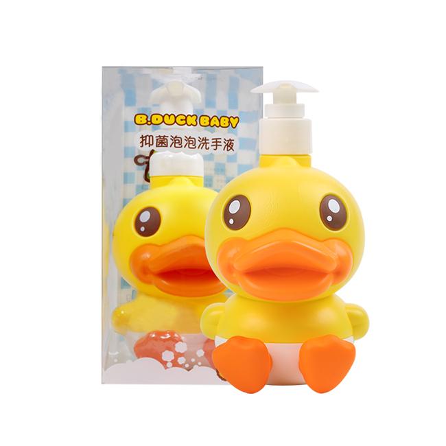 一般贸易货源 代购鳄鱼宝宝B.duck Baby小黄鸭抑菌洗手液300g(国际版)