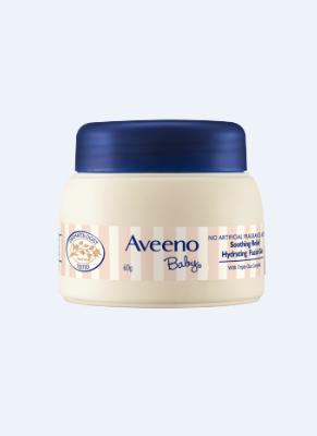 一般贸易货源 代购艾惟诺 Aveeno 婴儿舒缓柔嫩保湿凝露 60g/罐 宝宝润肤露儿童保湿面霜